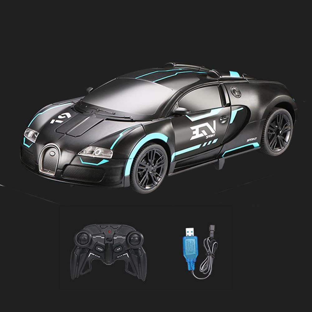 other-learning-office-supplies RC Transform Robot Car Remote & Gesture Control Deformation Car LED Light Music Robots Vehicle Model for Children Gift HOB1794170 3 1
