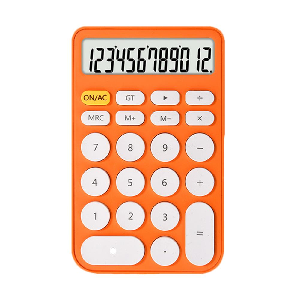calculator 12 Digit Calculator Large Screen Ultra Thin Financial office Accounting Calculator Portable Stationery Students Supplies HOB1794249 1