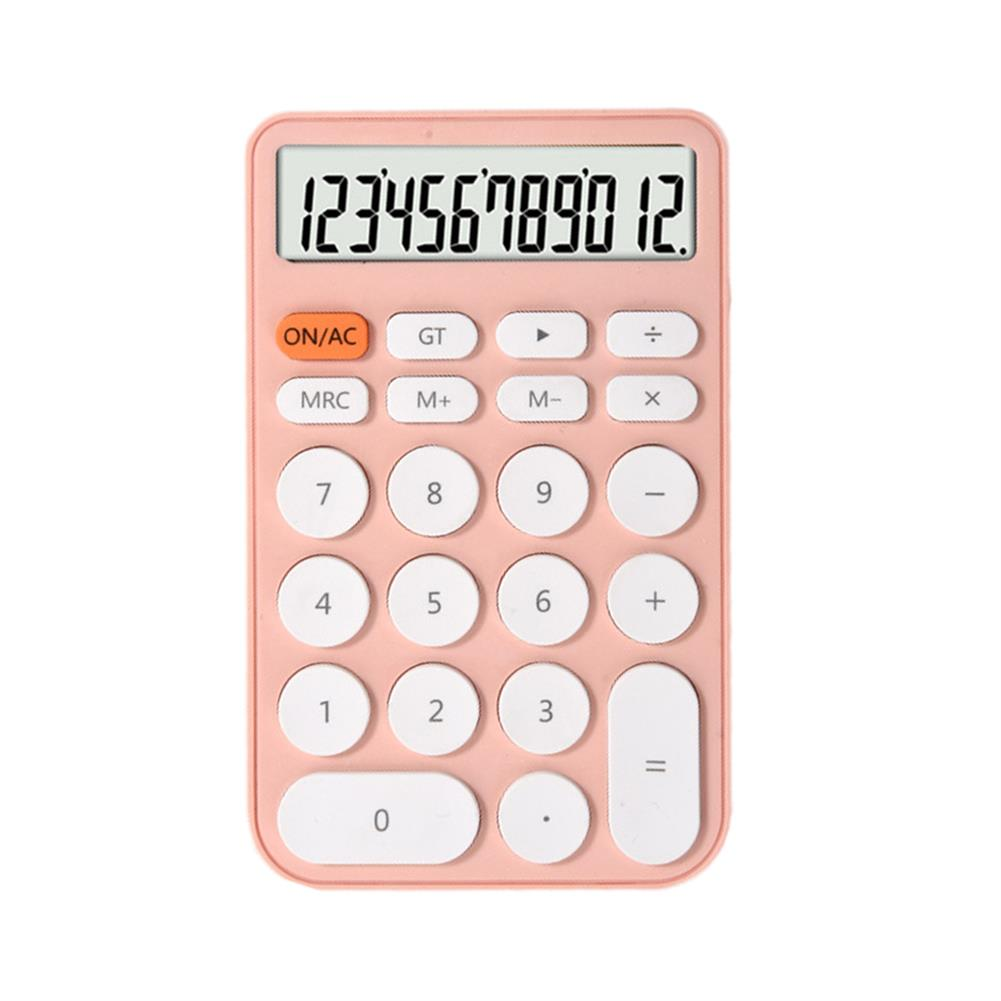 calculator 12 Digit Calculator Large Screen Ultra Thin Financial office Accounting Calculator Portable Stationery Students Supplies HOB1794249 1 1