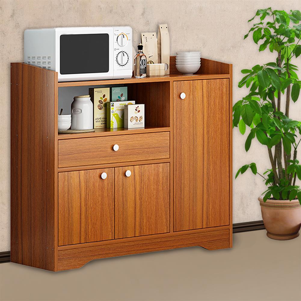 desktop-off-surface-shelves Kitchen Storage Cabinet Microwave Oven Rack Baker Shelf Kitchen Desktop Space Saving Organizer Cupboard HOB1794690 1 1