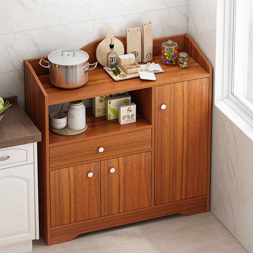 desktop-off-surface-shelves Kitchen Storage Cabinet Microwave Oven Rack Baker Shelf Kitchen Desktop Space Saving Organizer Cupboard HOB1794690 2 1