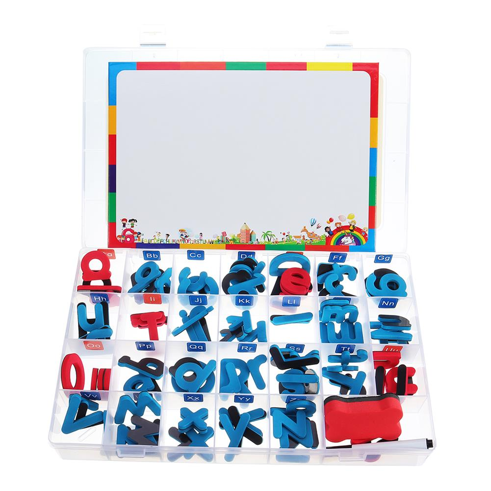 other-learning-office-supplies Childrens Magnetic Learning Alphabet Letters Numbers Drawing Whiteboard Alphabet Uppercase Lowercase Letters Educational Toys Gifts for Kids HOB1794696 1