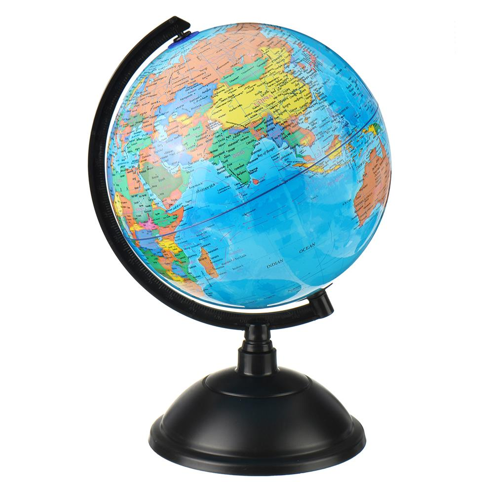other-learning-office-supplies LED Illuminated Globe Earth 20cm PVC Globe with Arc Stand Rotatable LED Luminous Earth Model for Children Geographical Learning HOB1794874 1