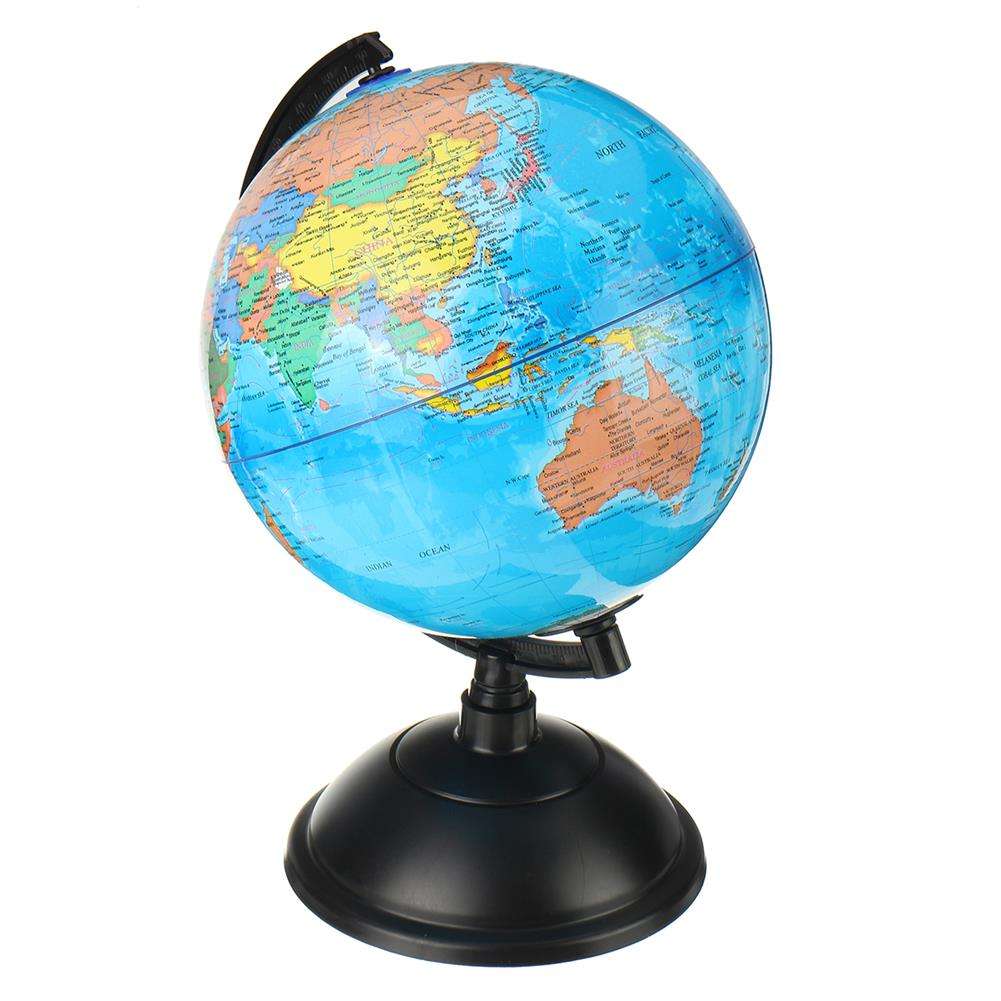 other-learning-office-supplies LED Illuminated Globe Earth 20cm PVC Globe with Arc Stand Rotatable LED Luminous Earth Model for Children Geographical Learning HOB1794874 1 1