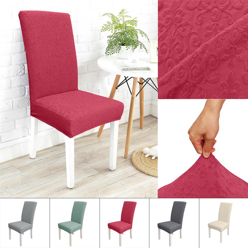 other-learning-office-supplies Pure Color Chair Cover Polyester Flower Pattern Elastic Chair Cover for Home office Restaurant Decoration HOB1794995 1 1