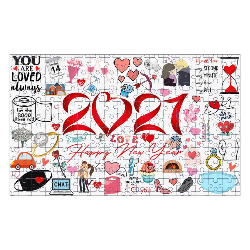 other-learning-office-supplies 1000pcs Valentine's Day Jigsaw Christmas Educational Puzzle Toy Wall Hanging interactive Games Bedroom Living Room Ornament HOB1795392 1