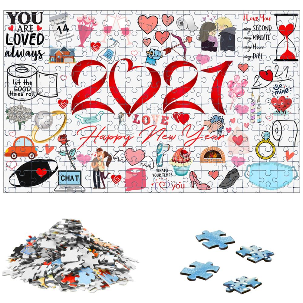 other-learning-office-supplies 1000pcs Valentine's Day Jigsaw Christmas Educational Puzzle Toy Wall Hanging interactive Games Bedroom Living Room Ornament HOB1795392 2 1