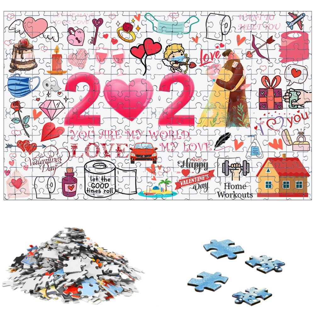 other-learning-office-supplies 1000pcs Valentine's Day Jigsaw Christmas Educational Puzzle Toy Wall Hanging interactive Games Bedroom Living Room Ornament HOB1795392 3 1