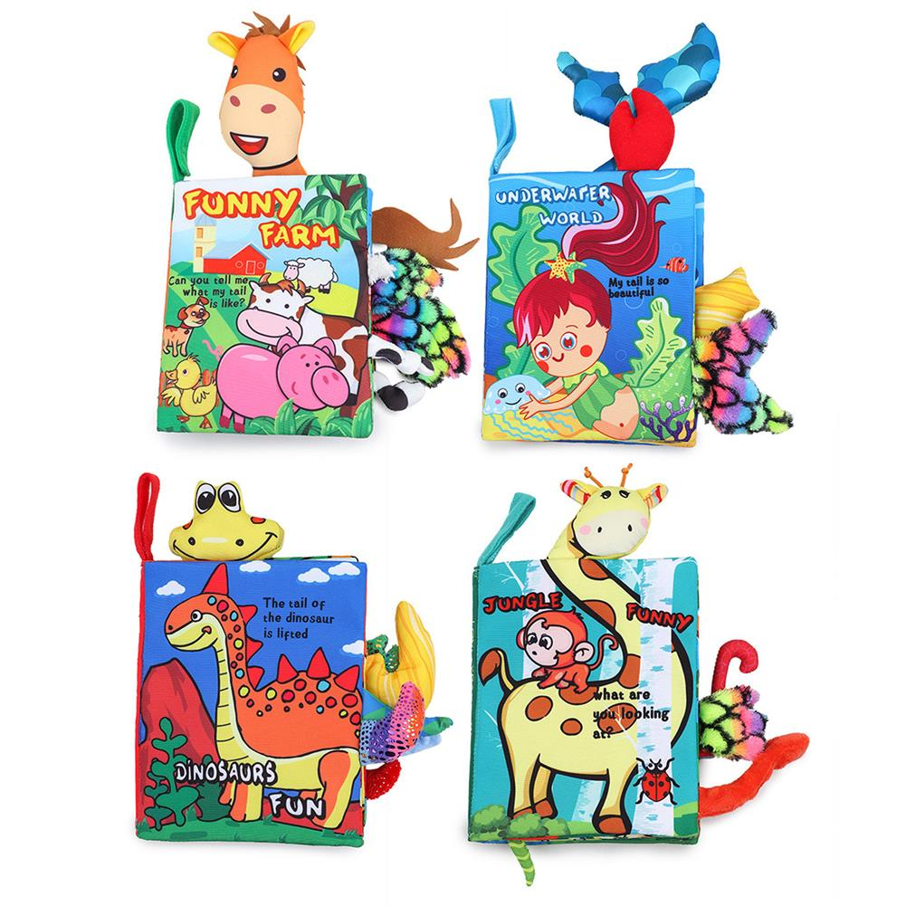 other-learning-office-supplies Educational Cognize Toy Baby Cloth Books Crinkle Books Soft Tails Books infants Toddler interactive Toys for Boys Girls HOB1795687 1