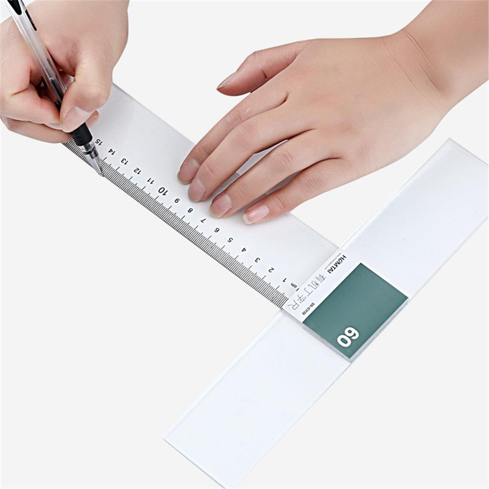 ruler 60/90cm T-ruler Plexiglass Professional Drawing Ruler DIY Craft General Work Measuring Tool Stationery office Supplies HOB1796005 1