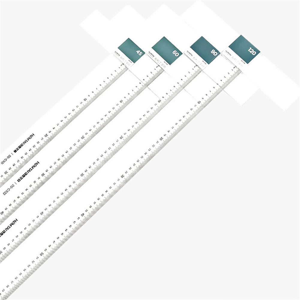 ruler 60/90cm T-ruler Plexiglass Professional Drawing Ruler DIY Craft General Work Measuring Tool Stationery office Supplies HOB1796005 1 1