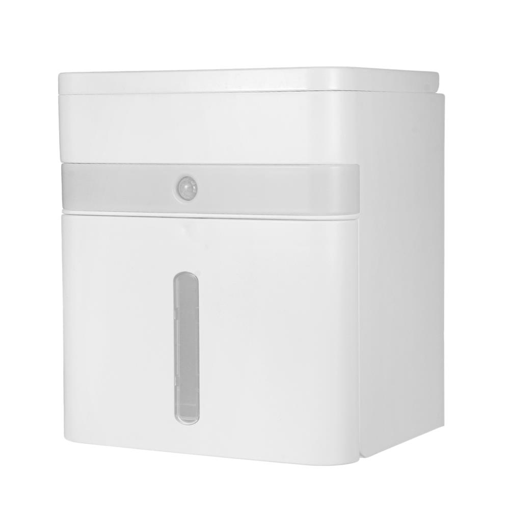 other-learning-office-supplies Portable Tissue Box Wall Mounted induction Night Light Smart Toilet Tissue Box Household Washroom Supplies HOB1797074 1 1