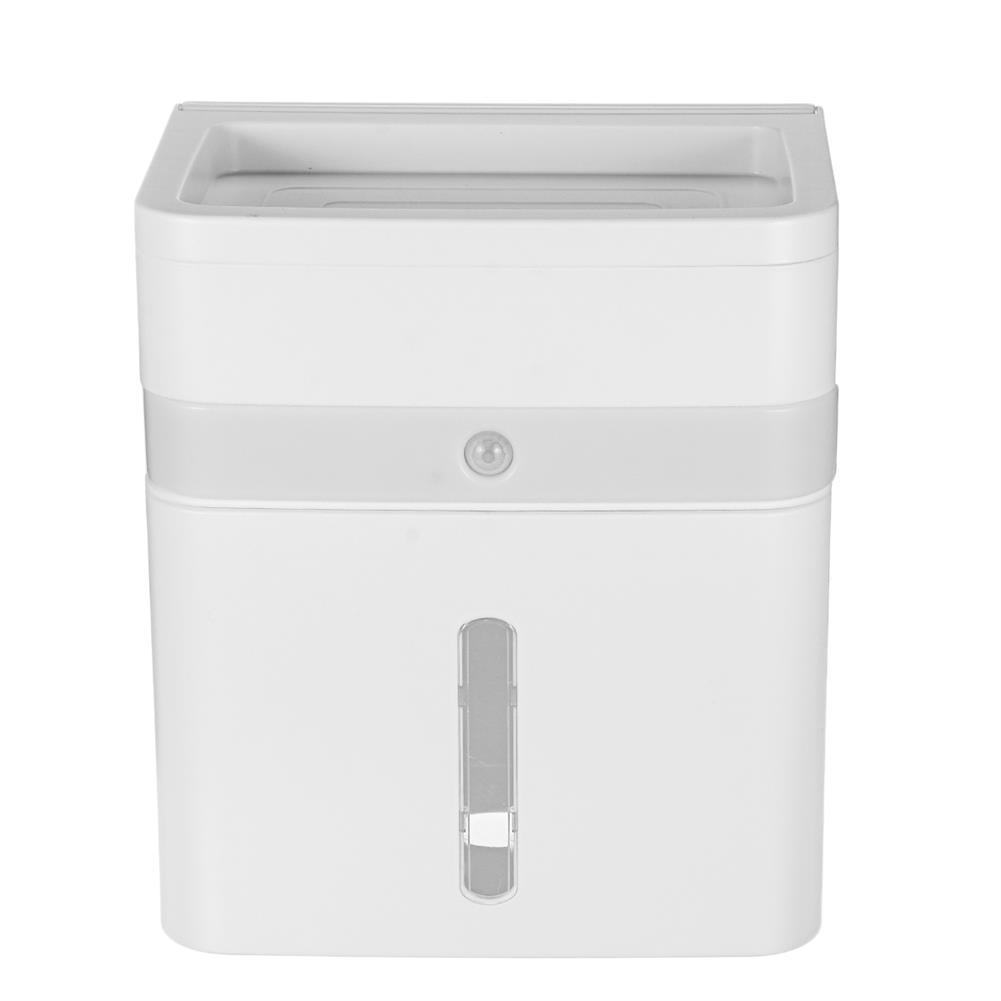 other-learning-office-supplies Portable Tissue Box Wall Mounted induction Night Light Smart Toilet Tissue Box Household Washroom Supplies HOB1797074 2 1