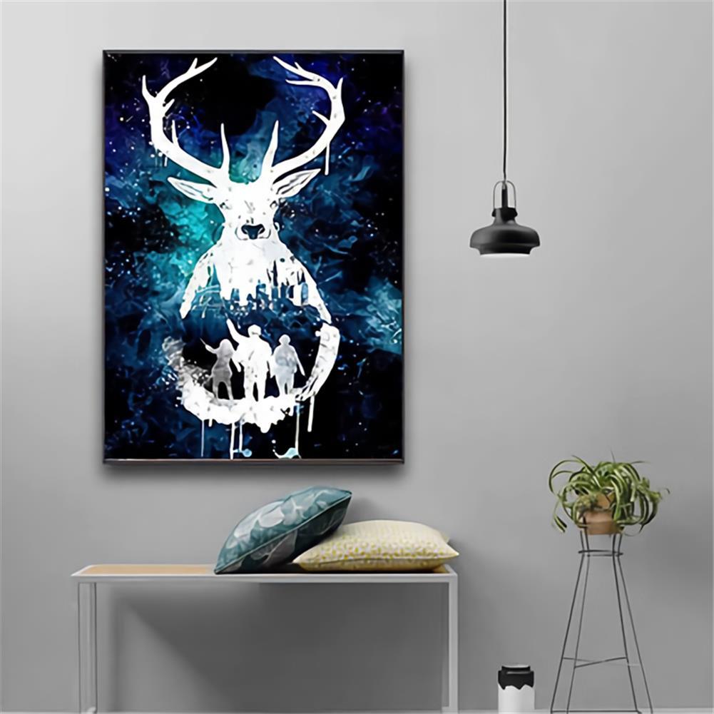 art-kit DIY 5D Diamond Painting Animal Deer Diamond Embroidery Cross Stitch Drill Christmas Gift Home Wall Decoration HOB1797696 2 1