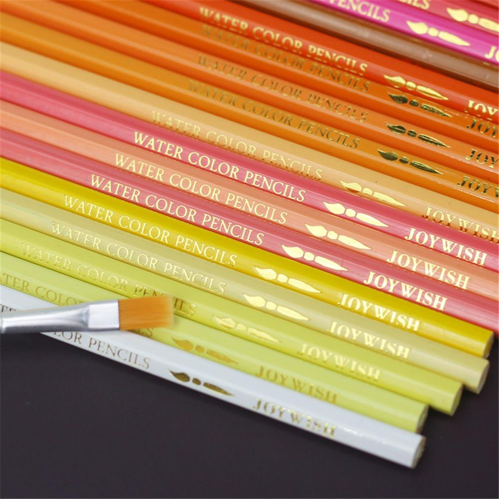 pencil 48/72 Colors Water Soluble Color Pencil Set Colorful Lead Oil Painting Artist Stationery for School Students Drawing Supplies HOB1797723 3 1