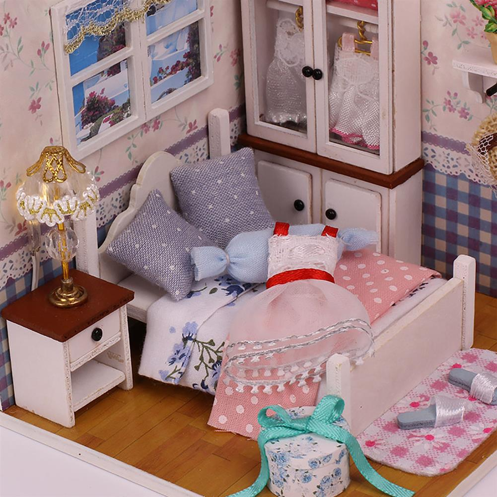other-learning-office-supplies Handmade DIY Dollhouse with Tool Set 3D Scale Miniature LED Lights Kids Room for Children Gift Home Decoration HOB1797992 1 1