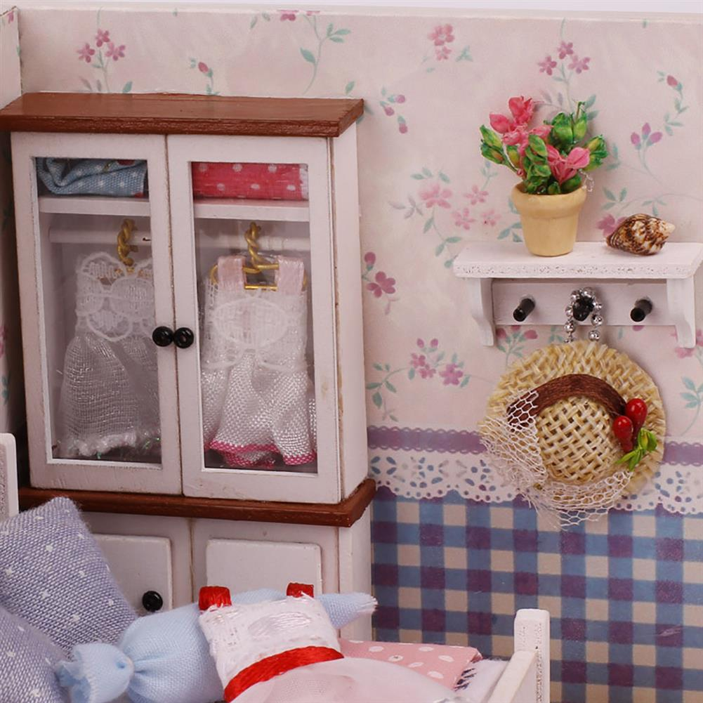 other-learning-office-supplies Handmade DIY Dollhouse with Tool Set 3D Scale Miniature LED Lights Kids Room for Children Gift Home Decoration HOB1797992 3 1