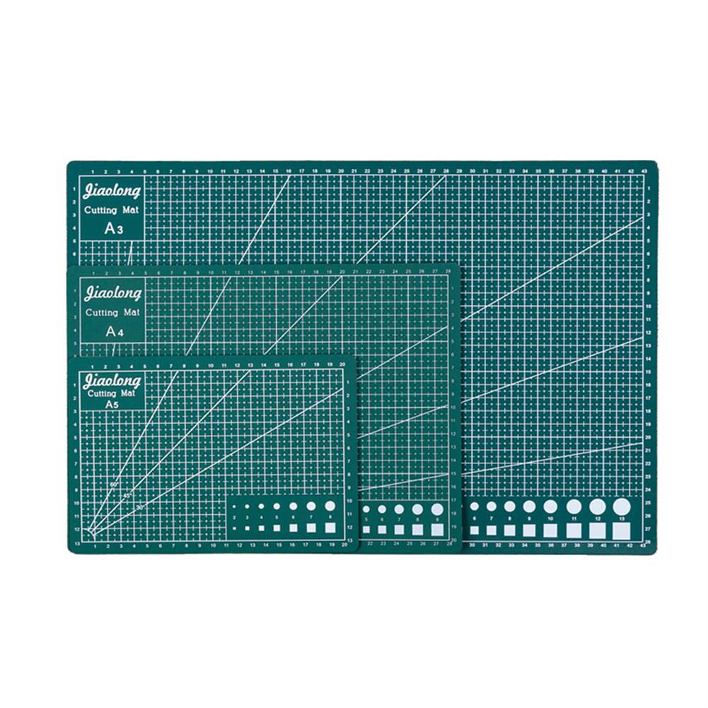 paper-cutter A3/A4/A5 Green Cutting Mat 3mm Thick Double Sided Durable Cut Board Patchwork Tool DIY Handmade Cutting Plate HOB1798018 1
