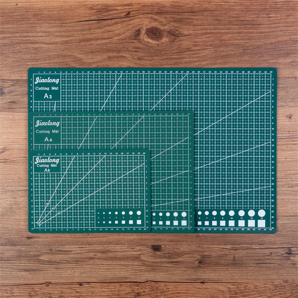 paper-cutter A3/A4/A5 Green Cutting Mat 3mm Thick Double Sided Durable Cut Board Patchwork Tool DIY Handmade Cutting Plate HOB1798018 1 1