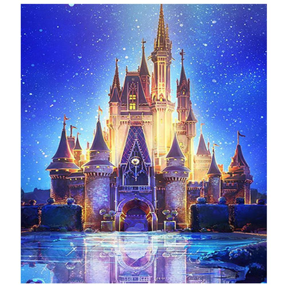 art-kit DIY 5D Diamond Painting Art Castle Hanging Pictures Handmade Cross Embroidery Kit Living Room Decorations Drawing Gifts HOB1798101 1