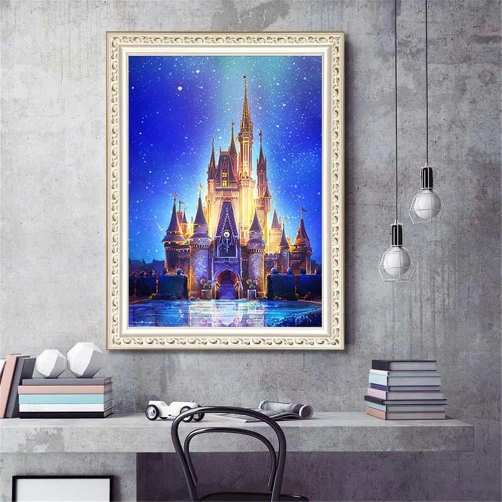 art-kit DIY 5D Diamond Painting Art Castle Hanging Pictures Handmade Cross Embroidery Kit Living Room Decorations Drawing Gifts HOB1798101 2 1