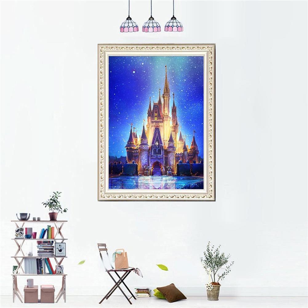 art-kit DIY 5D Diamond Painting Art Castle Hanging Pictures Handmade Cross Embroidery Kit Living Room Decorations Drawing Gifts HOB1798101 3 1