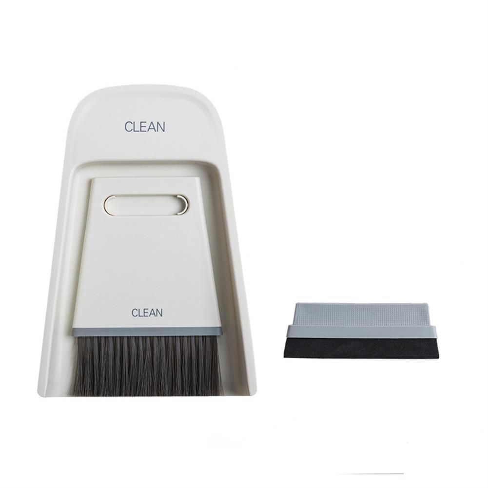 pencil-sharpener Mini Broom Dustpan Combination Set Home Soft Fur Magic Small Broom Sweep Portable Cleaning Brush for Desktop Tools HOB1798597 1 1