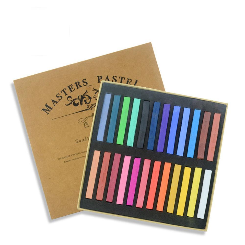 art-kit 12/24/36/48 Color Crayon Set Painting Crayons Soft Art Dry Pastel Artist Student Graffiti Painting Drawing Stationery Supplies HOB1799318 1 1