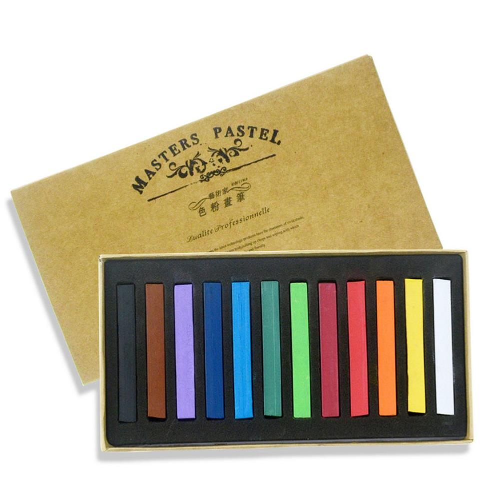 art-kit 12/24/36/48 Color Crayon Set Painting Crayons Soft Art Dry Pastel Artist Student Graffiti Painting Drawing Stationery Supplies HOB1799318 3 1