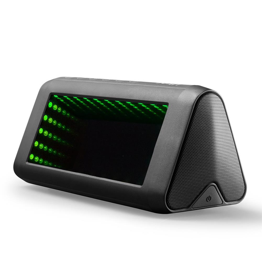desktop-off-surface-shelves 3D LED Mirror Bluetooth Speaker Light Outdoor Portable Built-in Battery NFC Sensor Stereo Speaker with Acrylic Lens HOB1799335 3 1