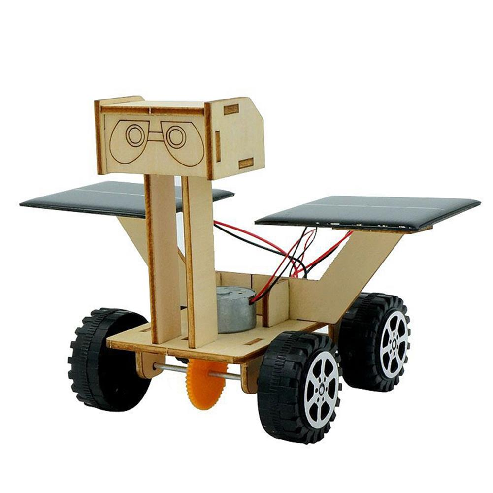 other-learning-office-supplies DIY 3D Wooden Puzzle Toys Handmade Assembly Solar Moon Rover Power Robot Model Scientific Early Learning Puzzle Toys for Kids HOB1800421 1 1