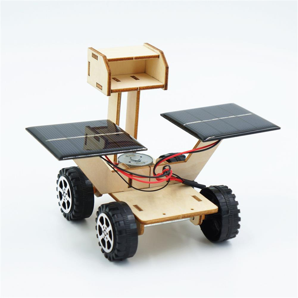other-learning-office-supplies DIY 3D Wooden Puzzle Toys Handmade Assembly Solar Moon Rover Power Robot Model Scientific Early Learning Puzzle Toys for Kids HOB1800421 2 1