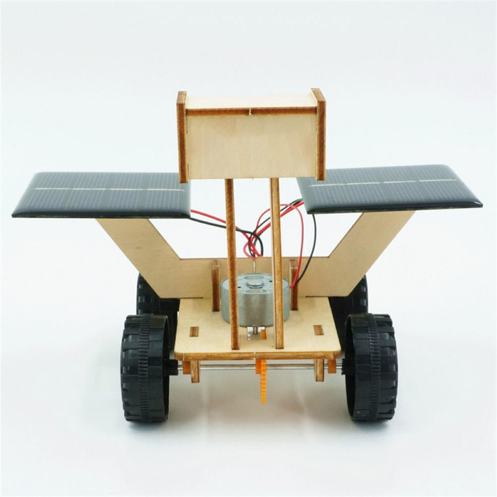 other-learning-office-supplies DIY 3D Wooden Puzzle Toys Handmade Assembly Solar Moon Rover Power Robot Model Scientific Early Learning Puzzle Toys for Kids HOB1800421 3 1