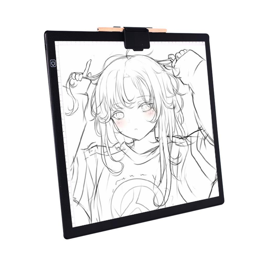 artboard-easel A3 LED Copy Pad Magnetic Attraction USB Art Artcraft Painting Drawing Writing Copy Tool Animation Drawing Board HOB1800480 1
