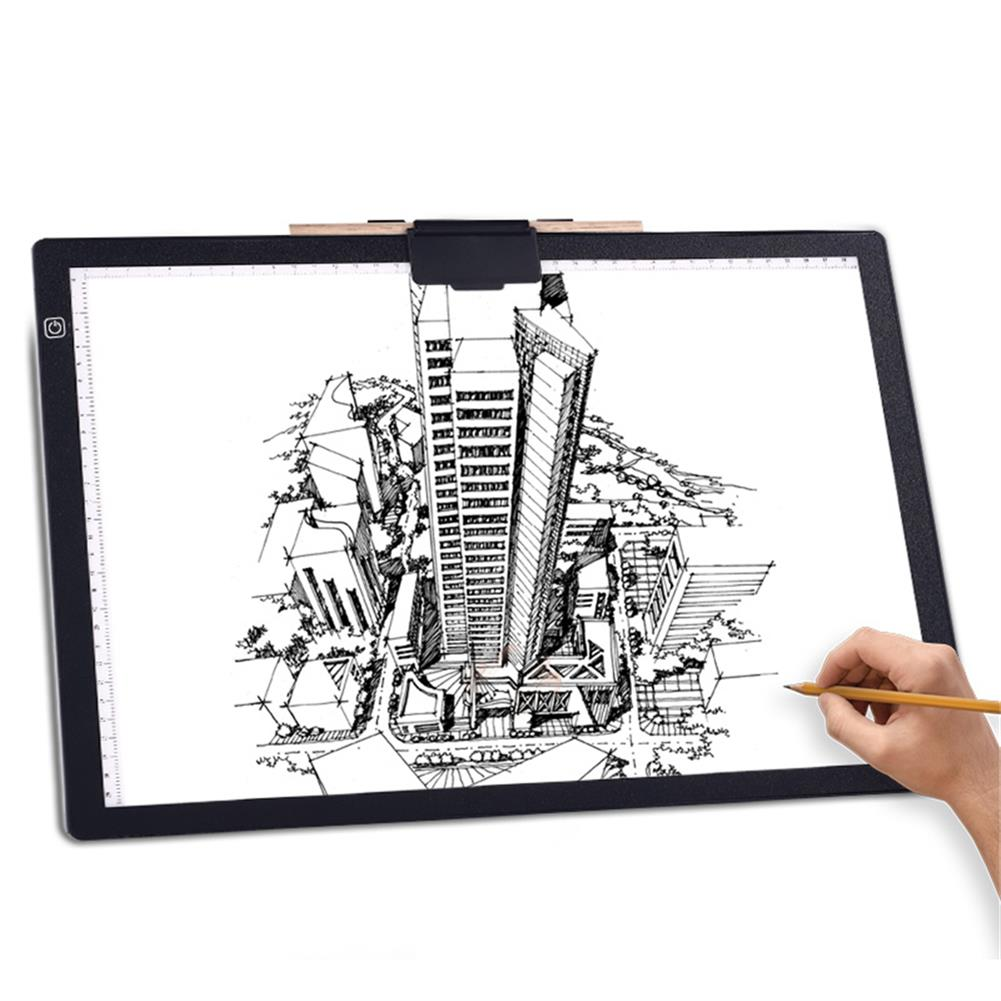 artboard-easel A3 LED Copy Pad Magnetic Attraction USB Art Artcraft Painting Drawing Writing Copy Tool Animation Drawing Board HOB1800480 1 1