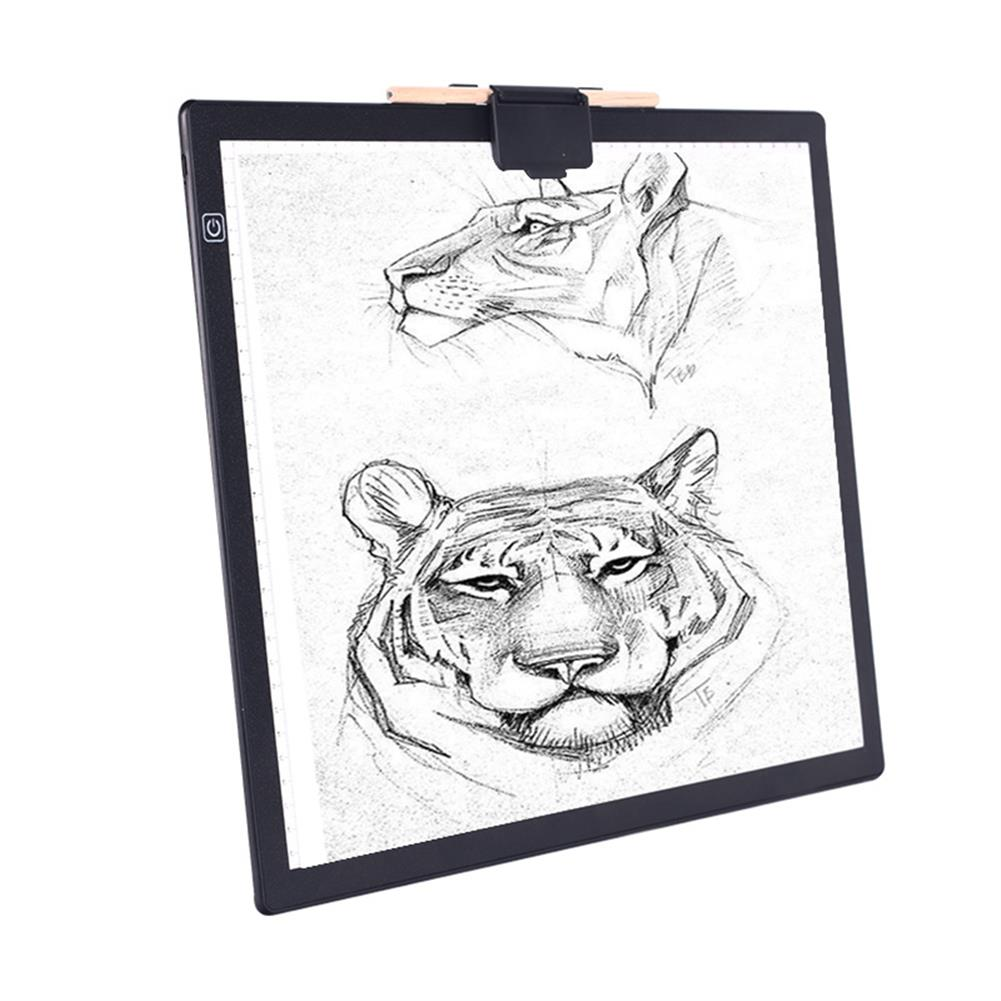 artboard-easel A3 LED Copy Pad Magnetic Attraction USB Art Artcraft Painting Drawing Writing Copy Tool Animation Drawing Board HOB1800480 2 1