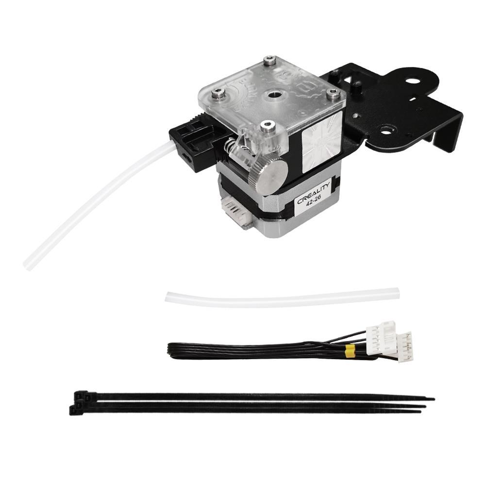 3d-printer-accessories Creality 3D Ender-3 V2 Titan Extrusion Extruder Nozzle Set + 8Pcs Nozzle + 2m PTEF Tube Kit for 3D Printer Part HOB1800538 2 1