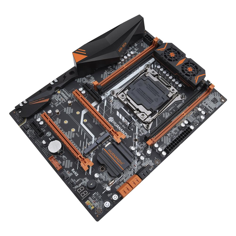 motherboard HUANANZHI X99 BD4 V1.1 Motherboard intel X99 LGA 2011-3 All Series DDR4 RECC128GB M.2 PCI-E NVME NGFF ATX Server Mainboard HOB1800796 1 1