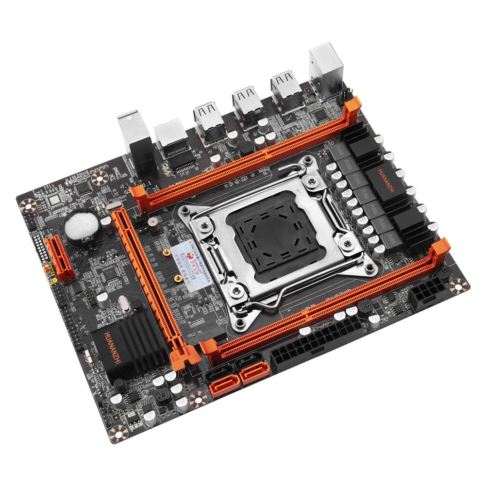 motherboard HUANANZHI X79 4M Motherboard M-ATX USB3.0 SATA NVME NGFF M.2 SSD Support REG ECC Memory and Xeon E5 Processor C2/V1/V2 2640 HOB1800797 1 1