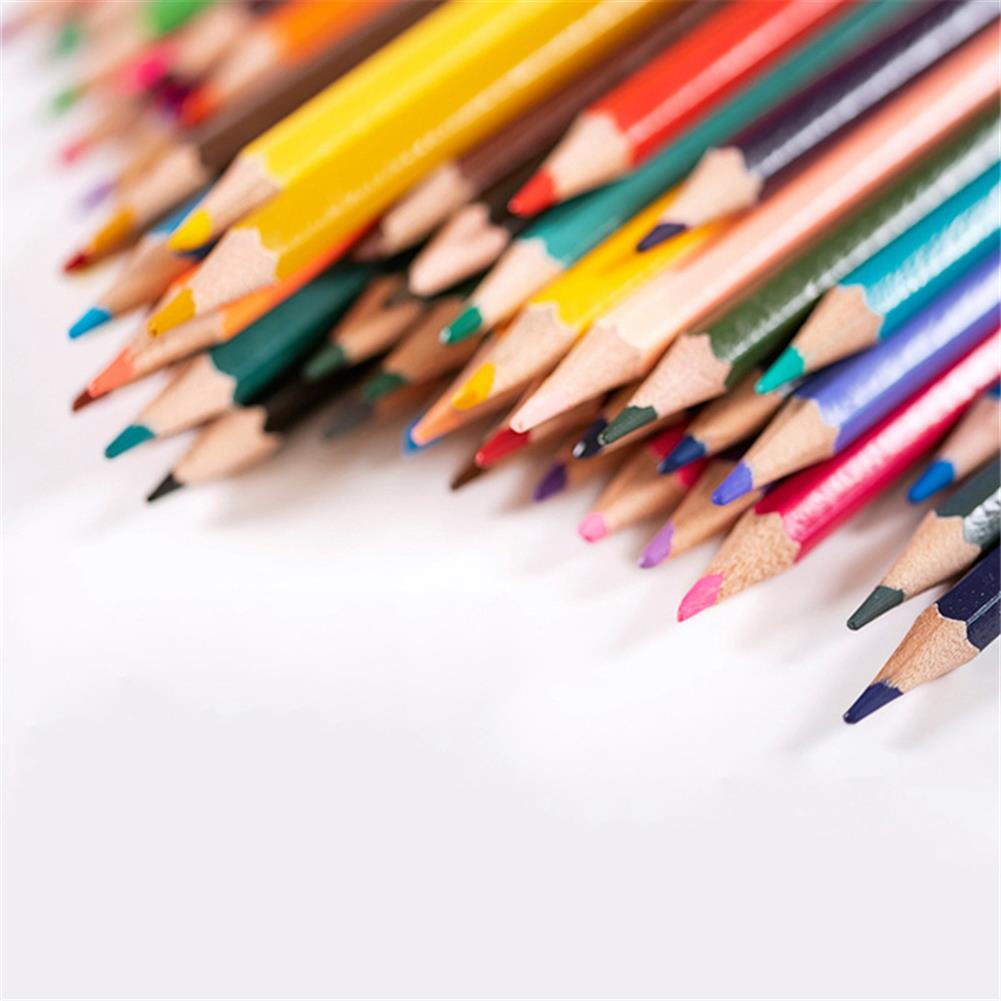 pencil 72 Coloring Pencils Set Hand Painted Graffiti Coloring Soft Watercolor Pencils Professional Stationery School Art Drawing Supplies Colored Pencils for Adult Coloring HOB1801057 3 1