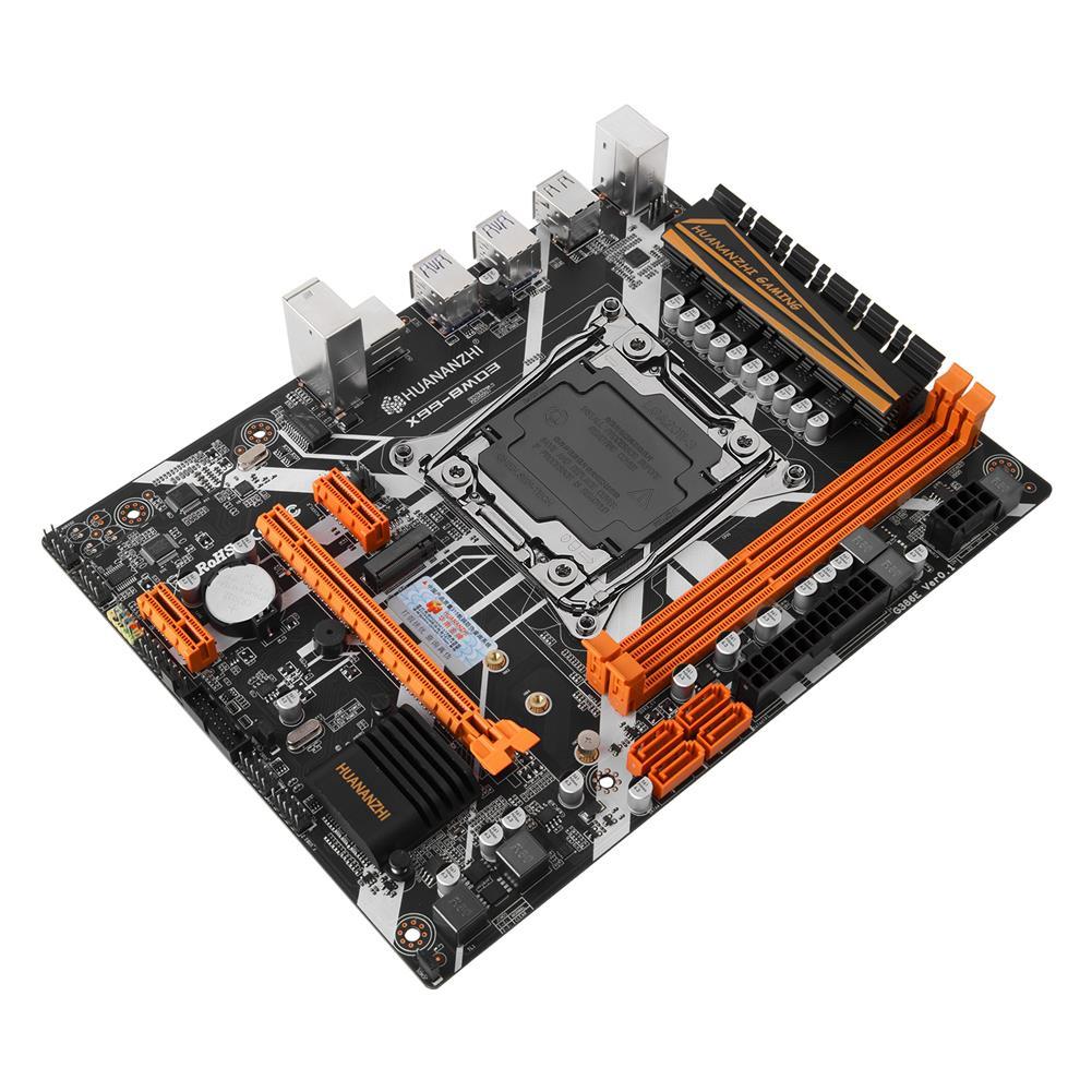 motherboard HUANANZHI X99-8MD3 Motherboard intel XEON E5 X99 LGA2011-3 All Series DDR3 RECC NON-ECC Memory NVME USB3.0 ATX HOB1801280 1 1
