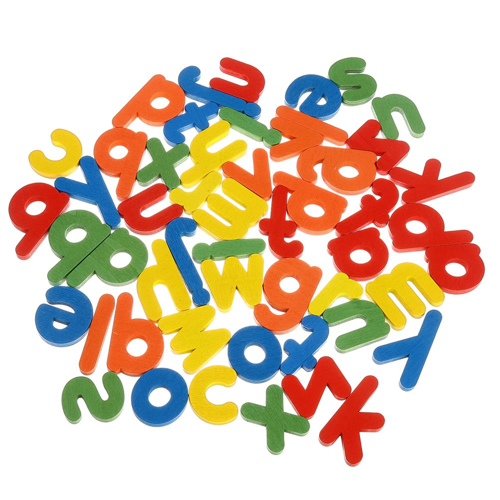 other-learning-office-supplies Wooden Toddler Letter Learning Cards Alphabet Words Puzzle Educational Toys for Kids HOB1801525 2 1