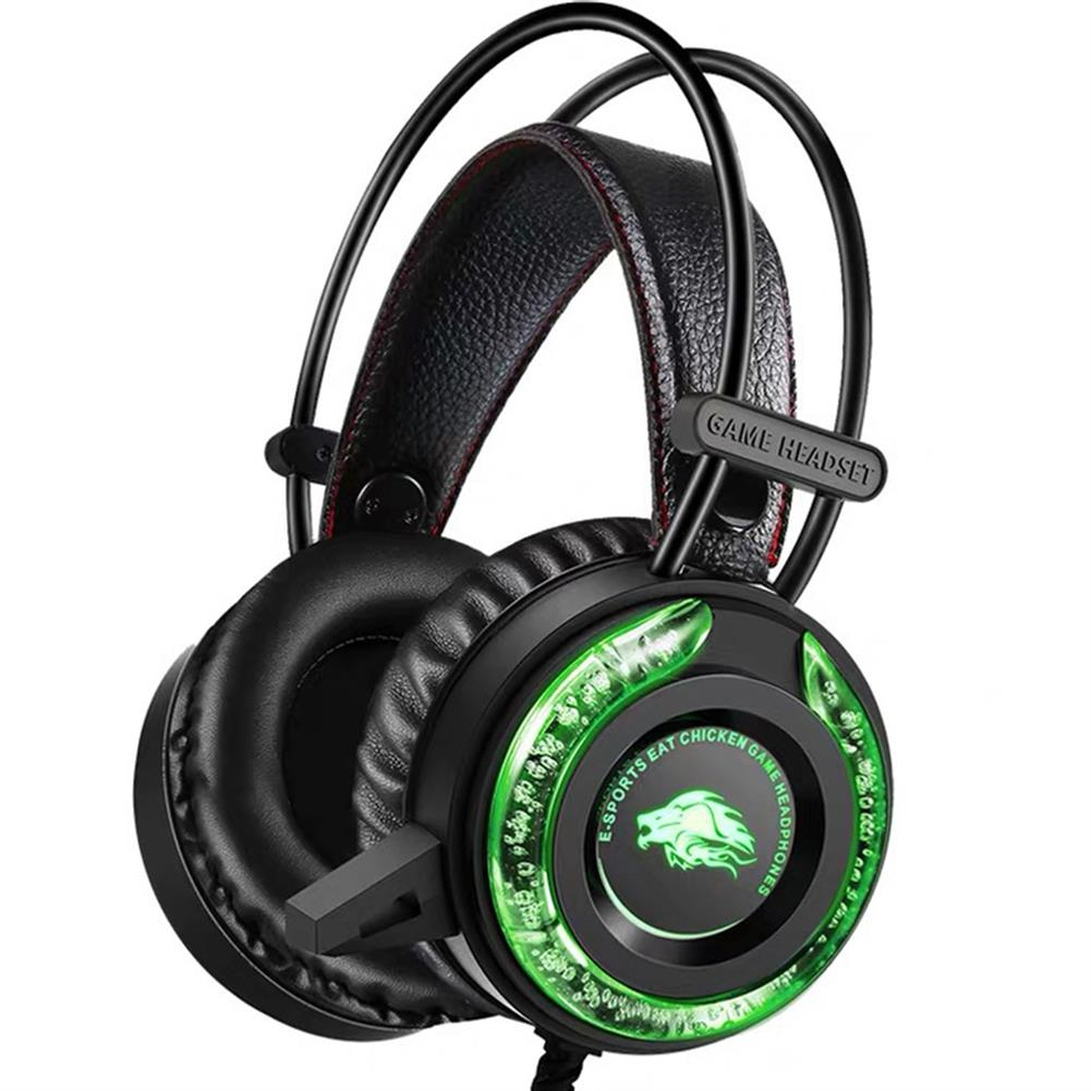 headphones Ruyi Bird A5 Gaming Headset with Microphone Bass Stereo Water Cool LED Headset 3.5mm for PS4 Computer HOB1801798 1