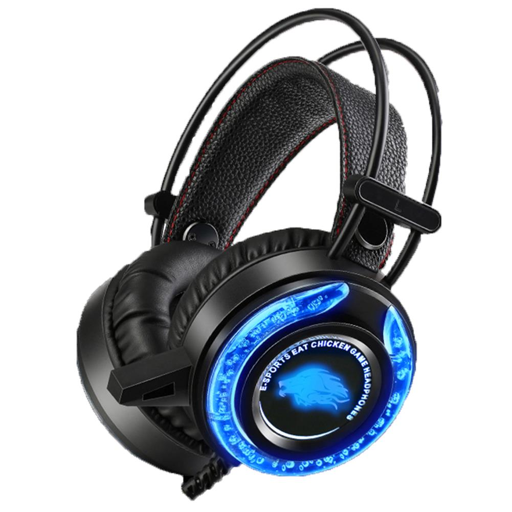 headphones Ruyi Bird A5 Gaming Headset with Microphone Bass Stereo Water Cool LED Headset 3.5mm for PS4 Computer HOB1801798 1 1