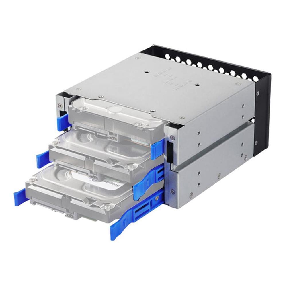 hdd-ssd-enclosures XT-XINTE 3 Bay HDD Docking Station Hard Drive Disk Tray Caddy HDD Cage Kit HOB1802272 1