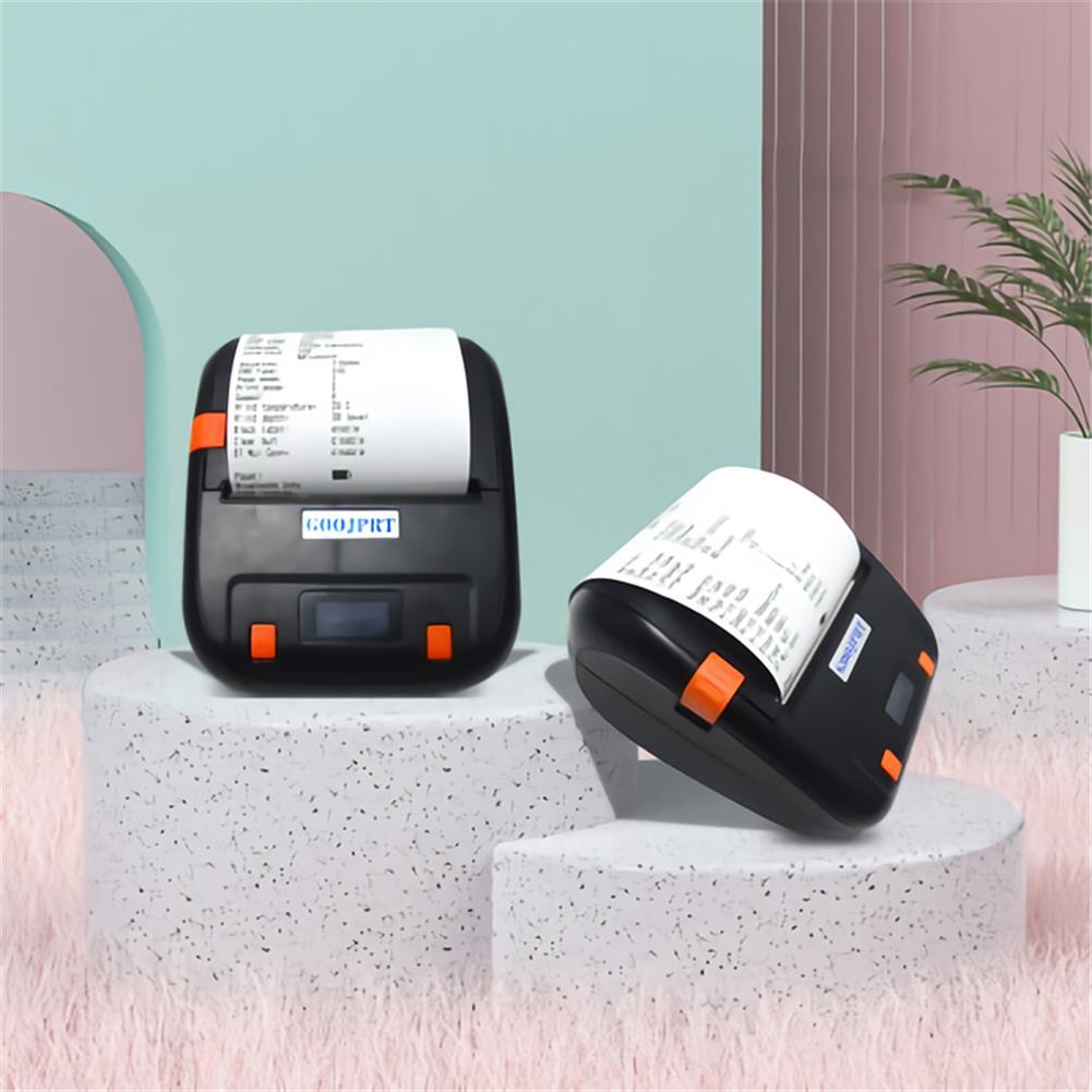 printers GOOJPRT MTP-4A thermal Label Printer Bluetooth Wireless Mini Portable Adhesive Sticker Paper Label Printer Machine HOB1802824 3 1