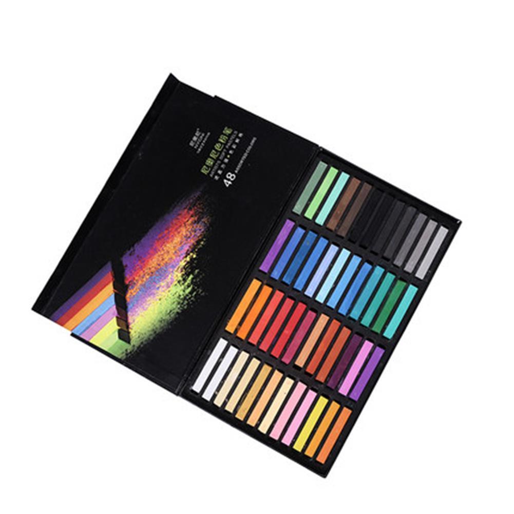 art-kit NYONI 12/24/48 Color Oil Pastel Color Chalk Soft Art Drawing Color Crayon Set Stationery Student Graffiti Painting Tool HOB1803558 2 1