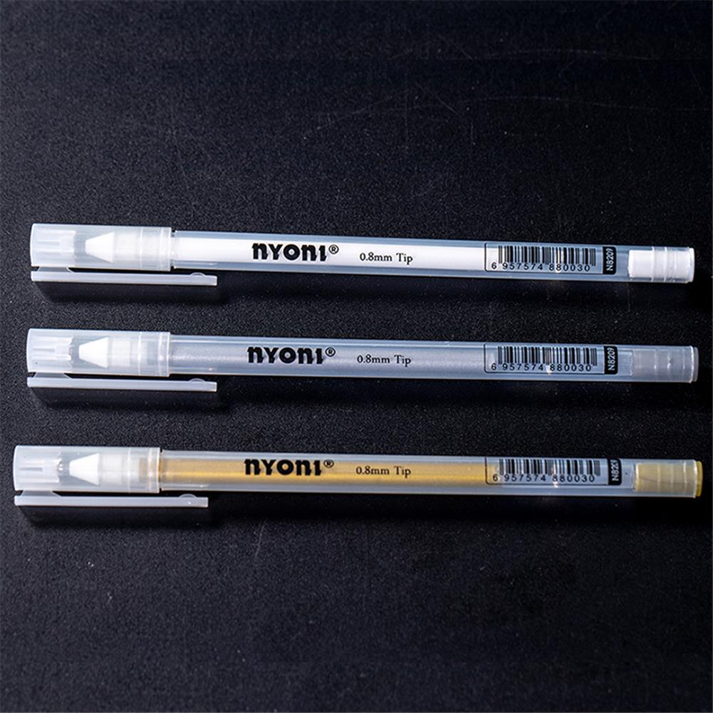 highlighter NYONI 12pcs/box Hand Highlighter Pen Drawning Multicolor Paint Marker Pens Stationery Student Supplies Marker Craftwork Pen HOB1803598 3 1