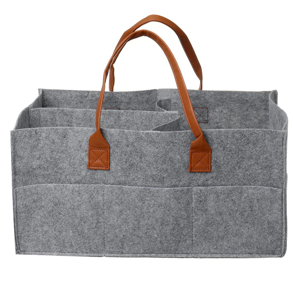 other-learning-office-supplies Multifunctional Storage Bag Felt Fabric Lightweight Removable Dividers Free Combination Storage Bag Diapers Baby Accessories Holder HOB1804352 1 1