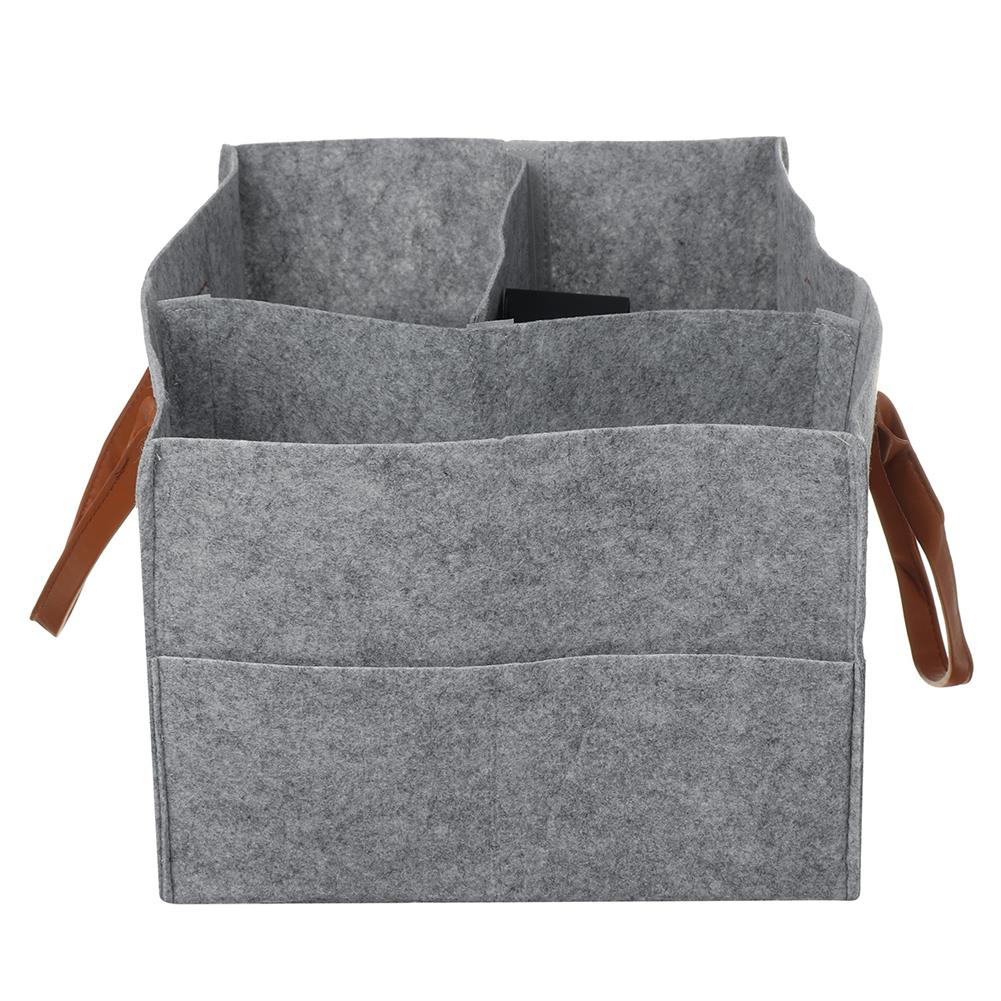 other-learning-office-supplies Multifunctional Storage Bag Felt Fabric Lightweight Removable Dividers Free Combination Storage Bag Diapers Baby Accessories Holder HOB1804352 2 1